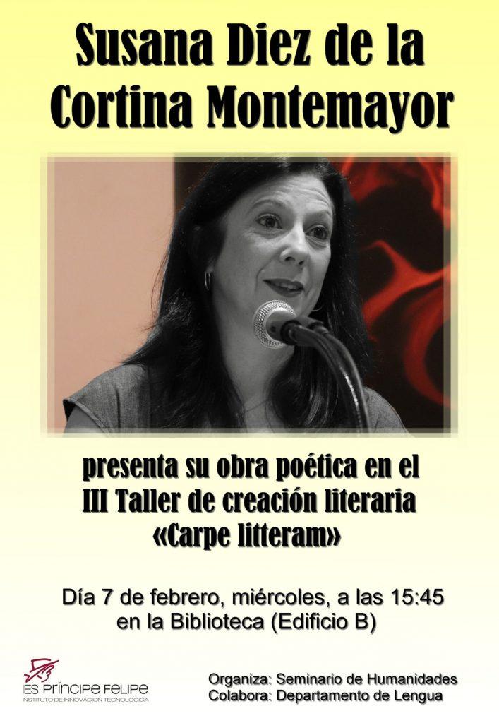 Cartel presentación Susana Diez