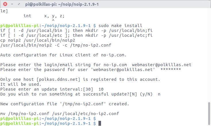 configuración de NoIP