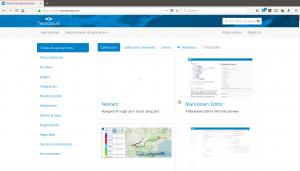 App store de Nextcloud