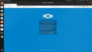 Error de dominio en Nextcloud 14